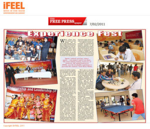 Aashayein Fest in Free Press Journal