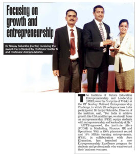 Focusing on growth and entrepreneurship